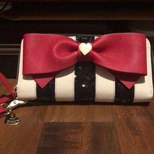 Betsey Johnson woman's wallet